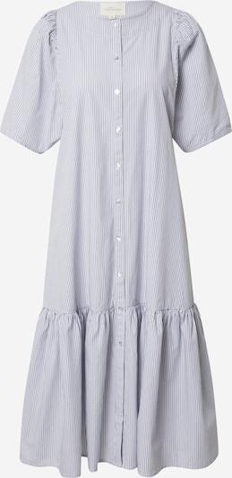 Esmé Studios Kleid 'Vivian' in rauchblau / weiß, Produktansicht