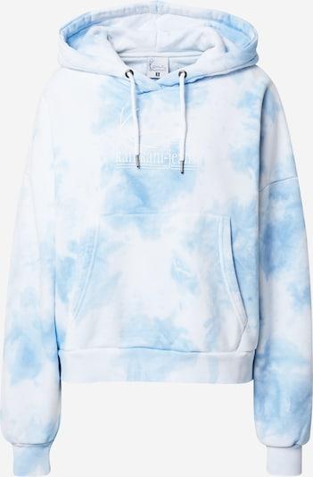 Karl Kani Hoodie 'Signature Tie Dye' in blau / weiß, Produktansicht