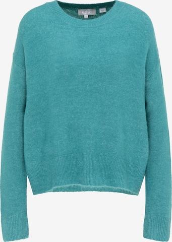 Usha Oversized Sweater in Blue