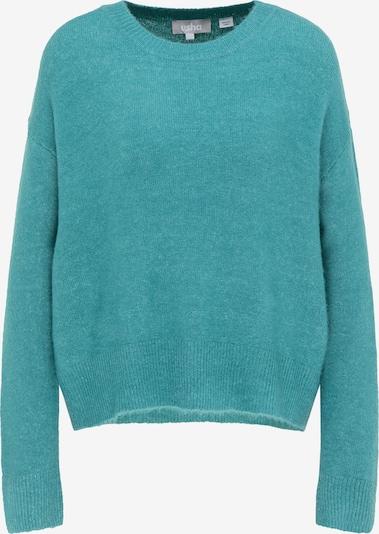Usha Oversized Sweater in Turquoise, Item view