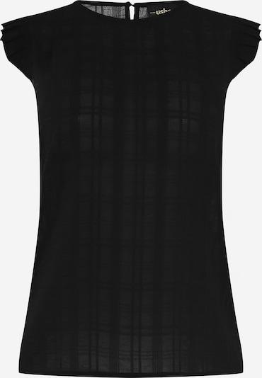 usha BLACK LABEL Top in schwarz, Produktansicht