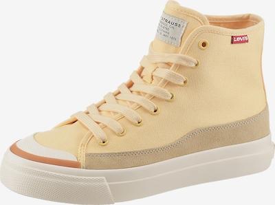 LEVI'S Sneaker in ecru / hellgelb / feuerrot, Produktansicht