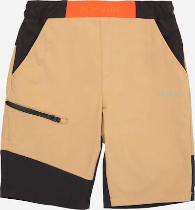 ICEPEAK Športové nohavice - svetlobéžová / oranžová / čierna, Produkt