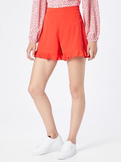 NA-KD Shorts in feuerrot, Modelansicht