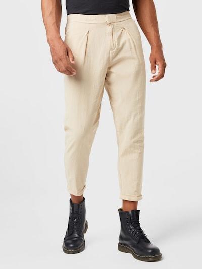 Pantaloni con piega frontale 'Johnny' Redefined Rebel di colore beige, Visualizzazione modelli