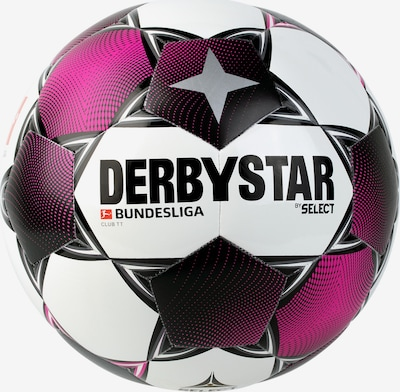DERBYSTAR Ball 'Bundesliga Club TT' in eosin / schwarz / weiß, Produktansicht