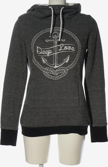 Essentials Kapuzensweatshirt in L in schwarz / weiß, Produktansicht