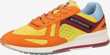 Baskets basses SCOTCH & SODA en jaune