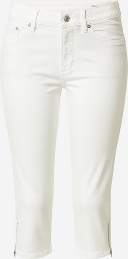 s.Oliver Jeans in white denim, Produktansicht