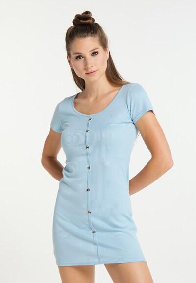 MYMO Kleid in blau, Modelansicht