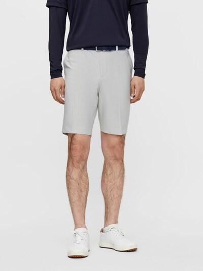 J.Lindeberg Golf Shorts in hellgrau: Frontalansicht