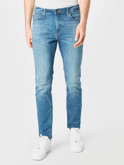 Lee Jeans 'Rider' i blue denim, Modelvisning