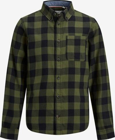 Produkt Hemd in navy / oliv, Produktansicht