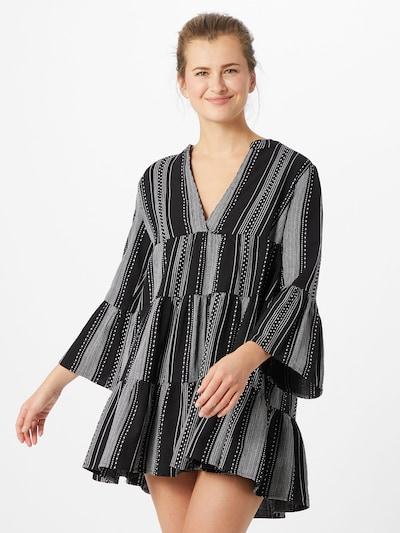 ONLY Robe 'Athena' en gris / noir, Vue avec modèle