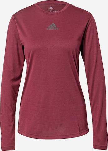 ADIDAS PERFORMANCE Sportshirt 'UFORU' in Rot