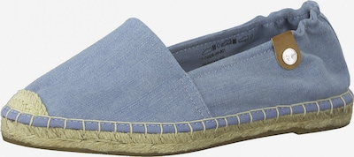 TAMARIS Espadrilles in blue denim, Produktansicht
