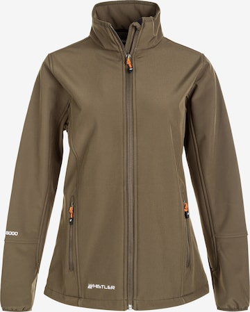 Whistler Outdoor Jacket 'Covina W-PRO 8000' in Brown