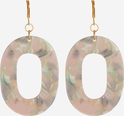 Fräulein Wunder Ohrringe 'Asina' in gold / mint / rosa, Produktansicht