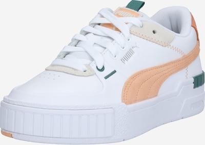 Sneaker bassa 'Cali' PUMA di colore turchese / albicocca / bianco, Visualizzazione prodotti