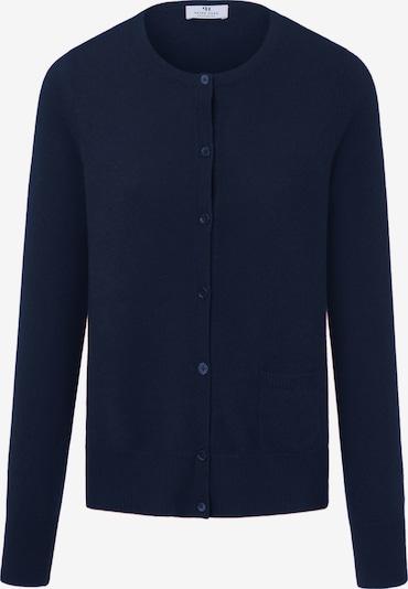 Peter Hahn Strickjacke Premium-Kaschmir in blau / dunkelblau, Produktansicht