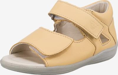 Pepino Sandale 'Taya' in hellgelb, Produktansicht