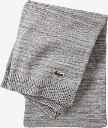 LACOSTE Blankets 'L LIVING' in Grey