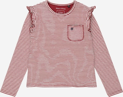 Marc O'Polo Junior Shirt in de kleur Rood / Wit, Productweergave