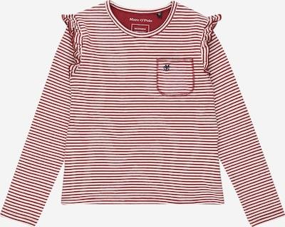 Marškinėliai iš Marc O'Polo Junior , spalva - raudona / balta, Prekių apžvalga