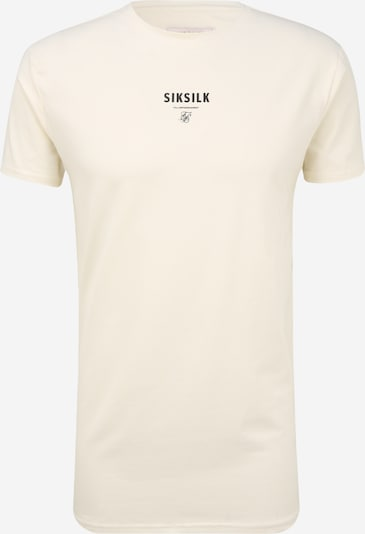 SikSilk T-Shirt en blanc cassé, Vue avec produit