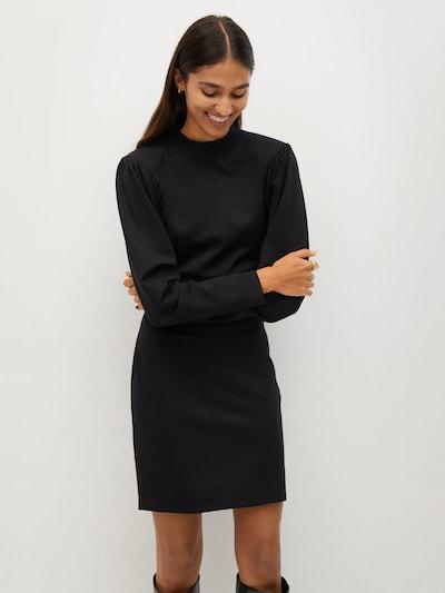 MANGO Kleid 'Deribes' in schwarz, Modelansicht