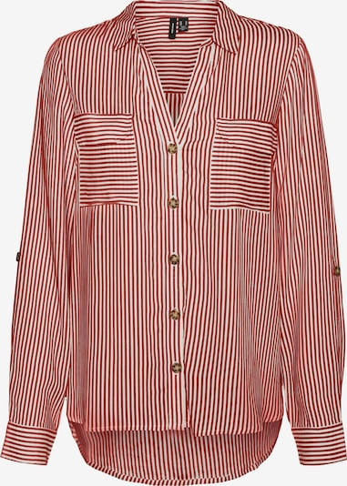 VERO MODA Blouse 'Bumpy' in Red / White, Item view