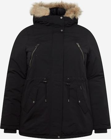 Vero Moda Curve Winter Parka in Black