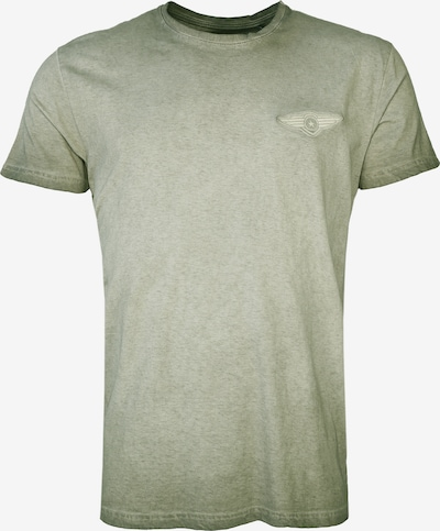 TOP GUN T-Shirt in grün: Frontalansicht