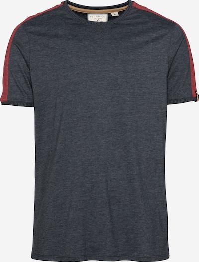 Fli Papigu Shirt 'Exercise Ur Mind' in mottled blue, Item view