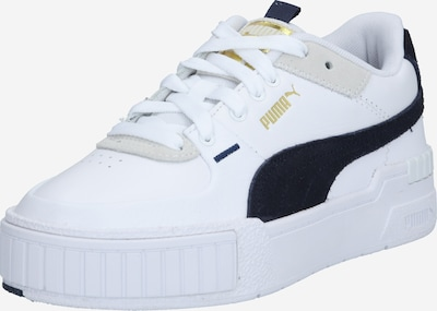 PUMA Sneakers laag 'Cali' in de kleur Donkerblauw / Goud / Wit, Productweergave