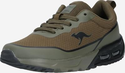 KangaROOS Sneaker in oliv / schwarz, Produktansicht