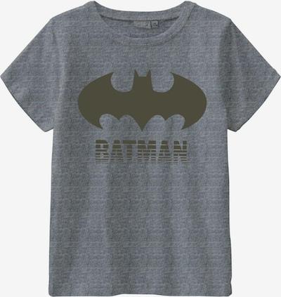 NAME IT Shirt 'Batman' in graumeliert / oliv, Produktansicht