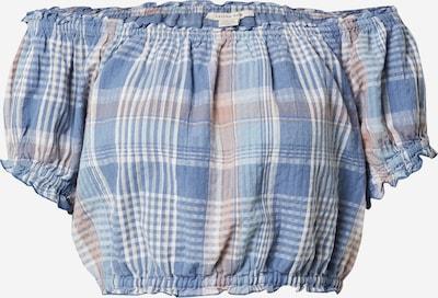 Camicia da donna American Eagle di colore blu chiaro / rosa / bianco, Visualizzazione prodotti