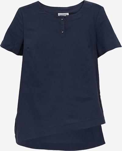 Finn Flare Leinenbluse in blau, Produktansicht