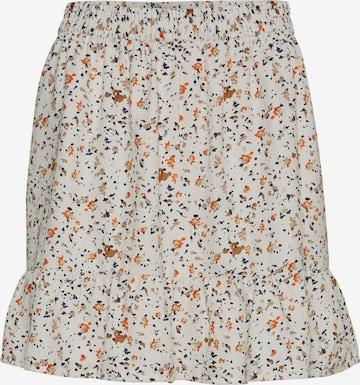 VERO MODA Skirt in Beige