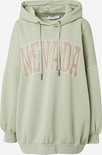 Noisy may Sweatshirt 'Bera' in gold / hellgrün / weiß, Produktansicht