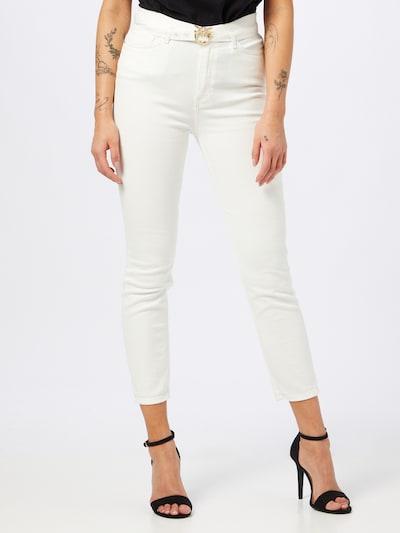 PINKO Jeans 'SUSAN' i vit denim, På modell