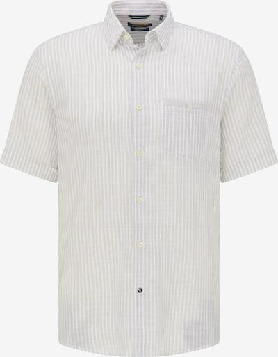 PIERRE CARDIN Hemd in hellgrau / weiß, Produktansicht