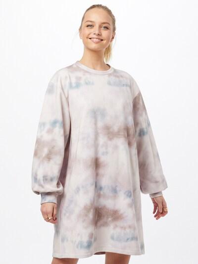modström Kleid 'Holly' in beige / blau / hellbraun / weiß, Modelansicht