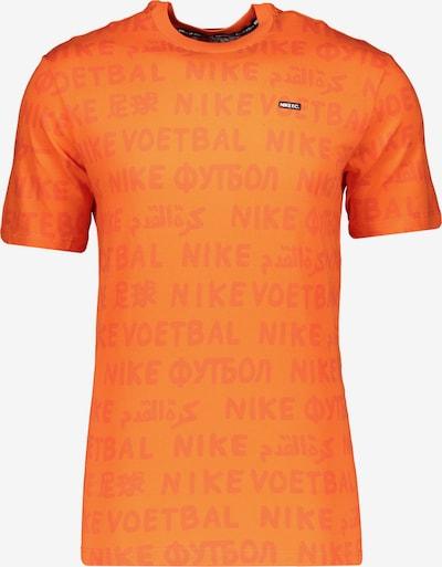 NIKE T-Shirt in orange / dunkelorange / schwarz, Produktansicht