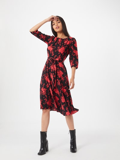 Dorothy Perkins Kleid 'Billie and  Blossom' in rot / schwarz, Modelansicht