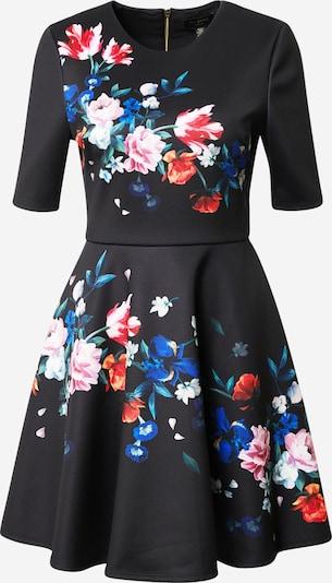 Ted Baker Kleid 'Zalena' in blau / grün / pink / schwarz / weiß, Produktansicht