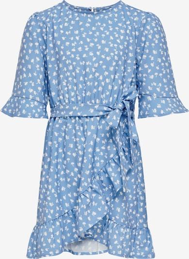 KIDS ONLY Robe 'Sisse' en bleu clair / blanc, Vue avec produit
