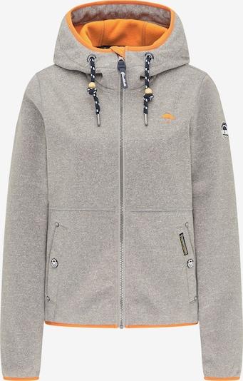 Schmuddelwedda Jacke in grau / graumeliert, Produktansicht