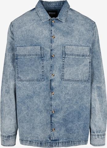 Camicia di Urban Classics in blu